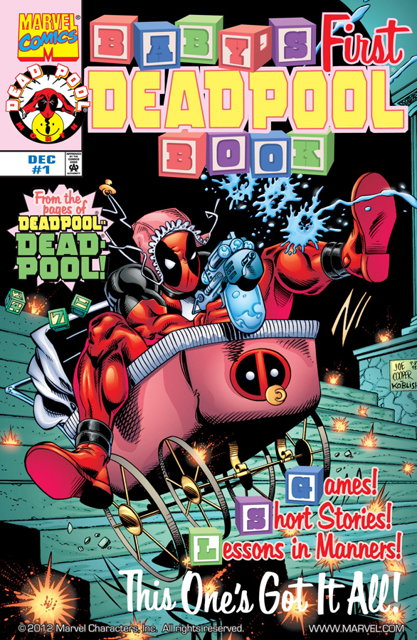 Baby's First Deadpool Book #1 (1998)