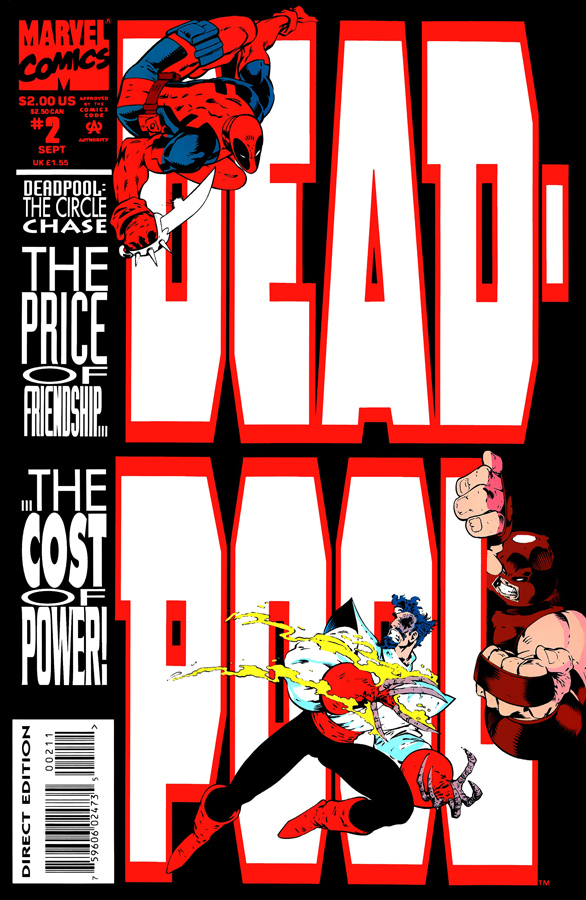 Deadpool: The Circle Chase #2 (1993)