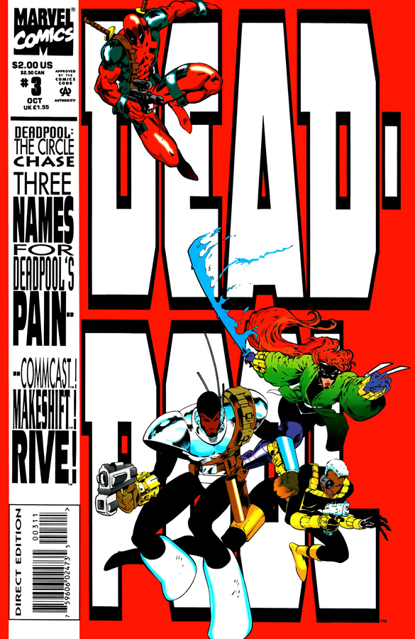 Deadpool: The Circle Chase #3 (1993)