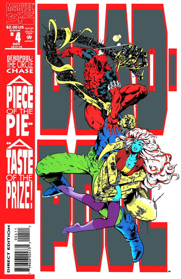 Deadpool: The Circle Chase #4 (1993)